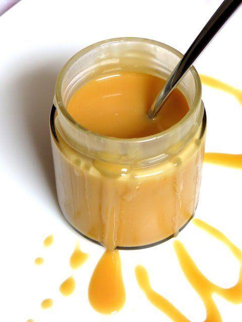 Karamellcreme. Einfach köstlich. Für mich die beste Zutat im Kaffee. Ich muss schon immer aufpassen, dass nicht noch ein Löffel dieser herrlichen Creme in meinen Mund wandert. Diese leckere Milchko…