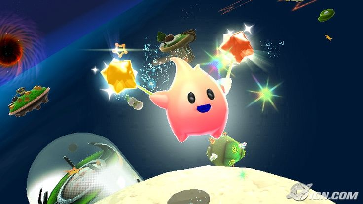 Super Mario Galaxy - Hungry Luma screenshot
