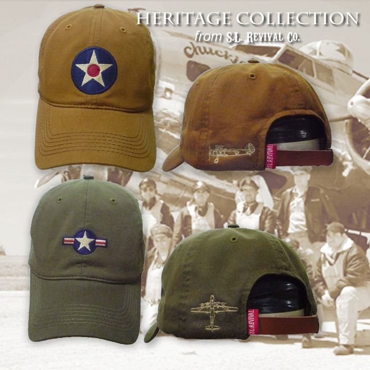 The U.S. Army Air Corps was the military arm of the United States of America between 1926 and 1941. The red-dotted star roundel was emblazoned on aircraft from 1926 until 1942. Embroidered on the front of a mineral-washed ball cap is the well known red-dotted star. The back embroidery is a PT17 Steerman training craft. A leather strap and clasp is used to adjust size. Make sure you are wearing a Revival™ ball cap.