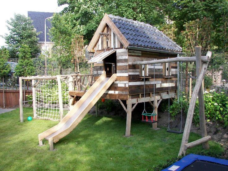 Afbeeldingsresultaat voor speelhoek tuin