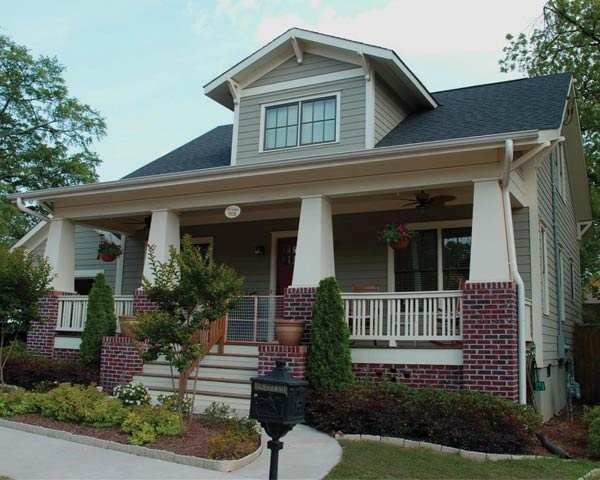 New Bungalow Craftsman Homes Pinterest