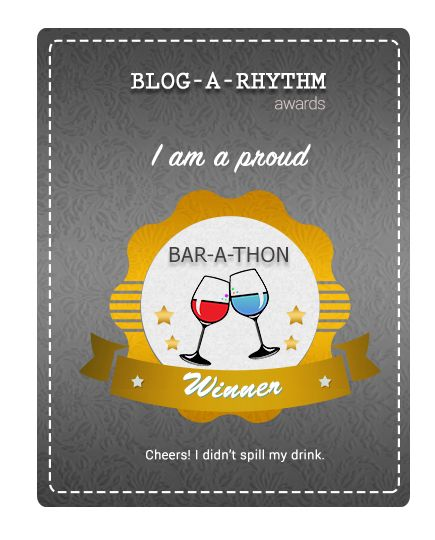 The Bar-A-Thon Winner Badge :)