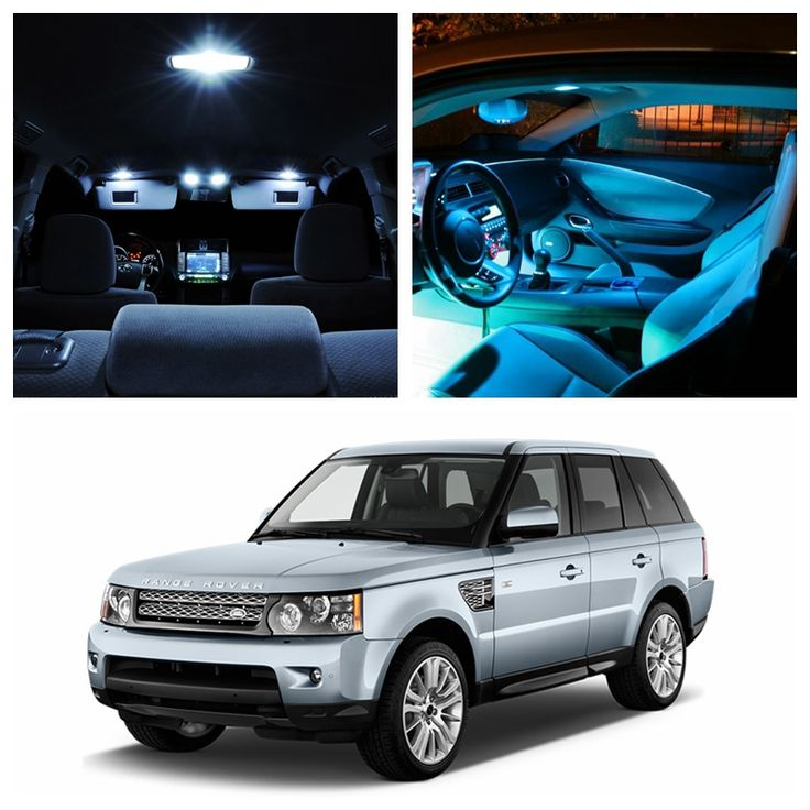 ==> [Free Shipping] Buy Best 16pcs Super Bright Canbus Ice Blue White Car LED Light Bulbs Interior Package Kit For 2007-2012 Land Rover Range Rover Sport Online with LOWEST Price | 32817584302