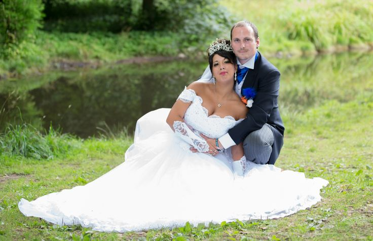 Taken after the ceremony in the grounds of Himley Hall
