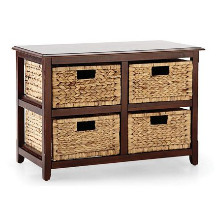 Cabinet With 4-Basket Storage