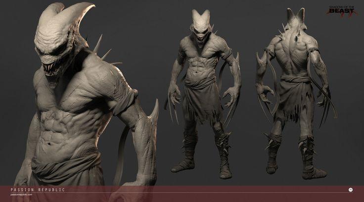 ArtStation - Shadow of The Beast - Aarbron, Wei Kang Lim