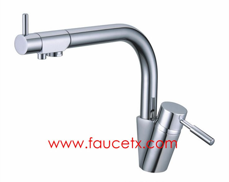 Rolya Chrome Solid Brass 3 Way Kitchen Sink Mixer Faucet Professional  Factory | Osmosis Reverse Three