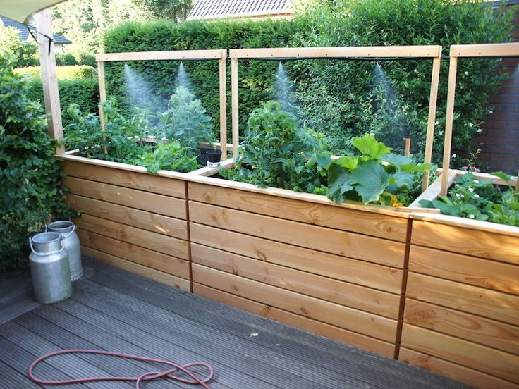 Rows Raised Bed Vegetable Bed Herbal Bed Made Of Weatherproof Wood Douglas Fir Hochbeet Hochbeet Holz Garten Hochbeet