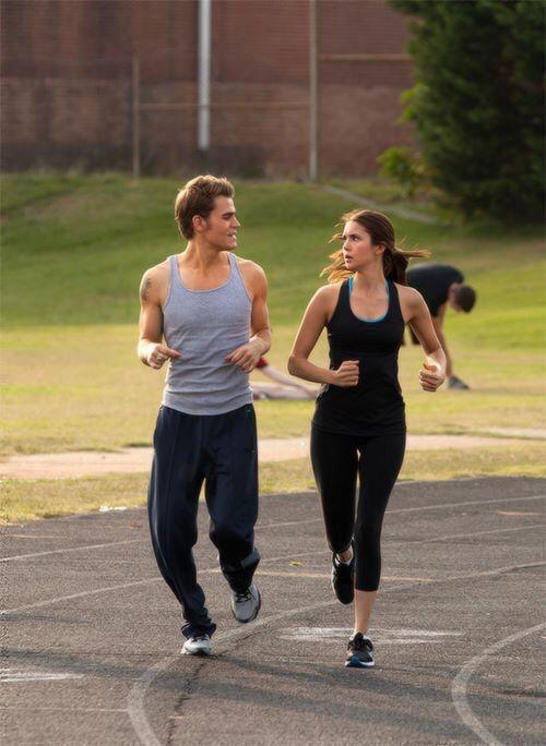 The Vampire Diaries Stefan(humanity off) & Elena