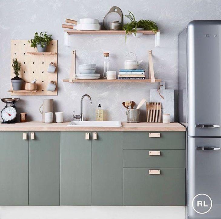 40 inspirações de cozinha verde para um ambiente cheio de personalidade