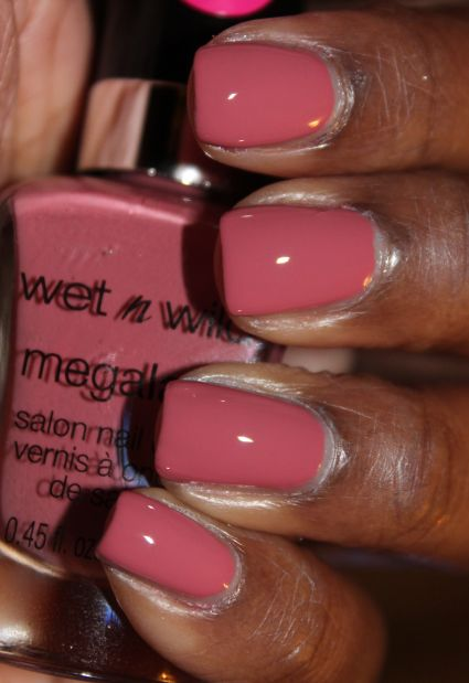 Gimme That Glow: Nail Junkie | Wet n Wild MegaLast Nail Polish | Review + Swatches undercover