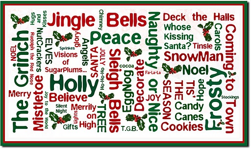 72 Best Christmas Wishes And Word Art Images On Pinterest