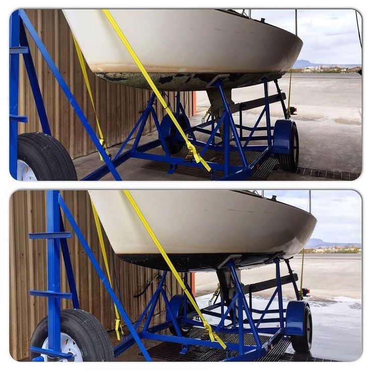 Power washing the J22 - before (top) after (bottom). The wonders of going to the car wash. @andrew_santangelo #j22 #elephantbutte #newmexico #sailing #undersail #sailboat #trailer by andrew_santangelo