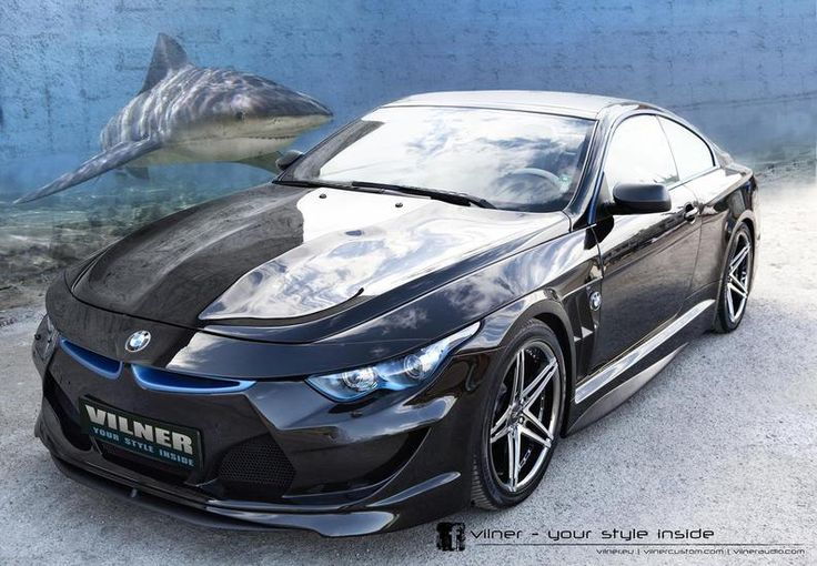 How to make the new BMW 6 Series 2014 sports car look like a real shark strange :D