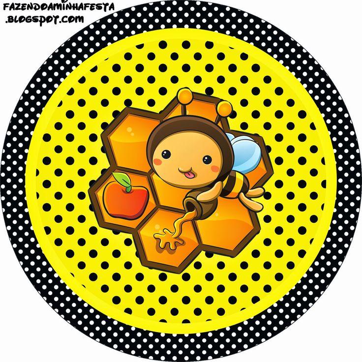 Abejitas Bebé: Etiquetas para Candy Bar para Imprimir Gratis.