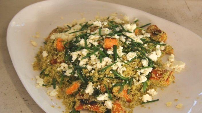 Siba's Fast Feasts - Herby Butternut Squash Salad