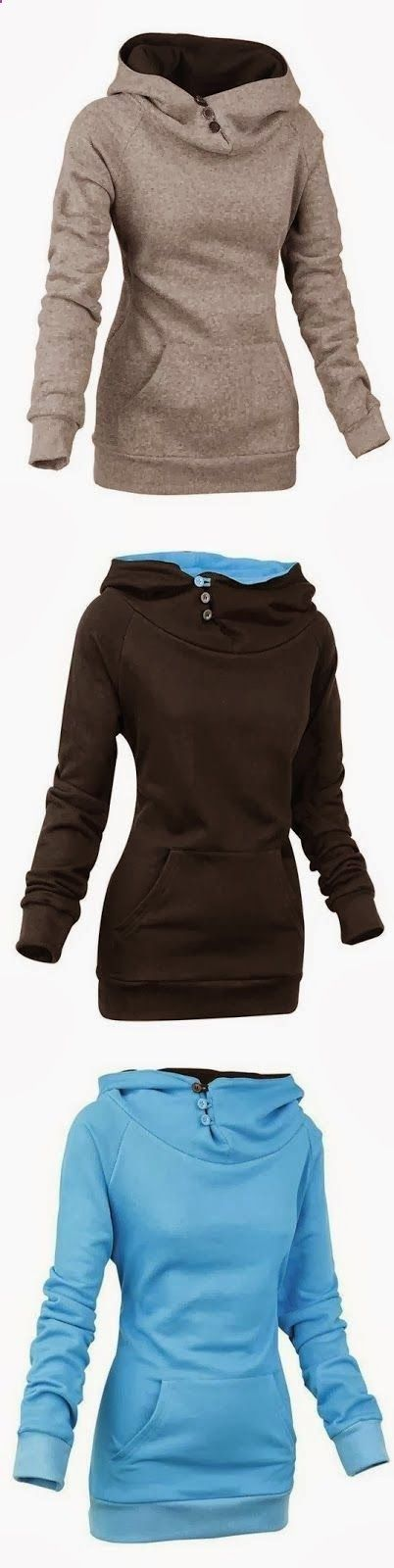 Finally, hoodies with style.
