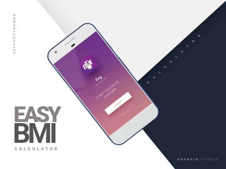 Easy Bmi Calculator- An Android Studio App by Itobuz Tech