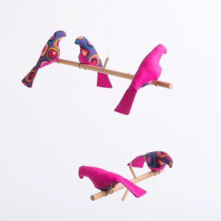 Розовый мобиль для малышей или просто декор для Вашего дома. В продаже в магазине Куби Руби на Ул. Академика Анохина 56