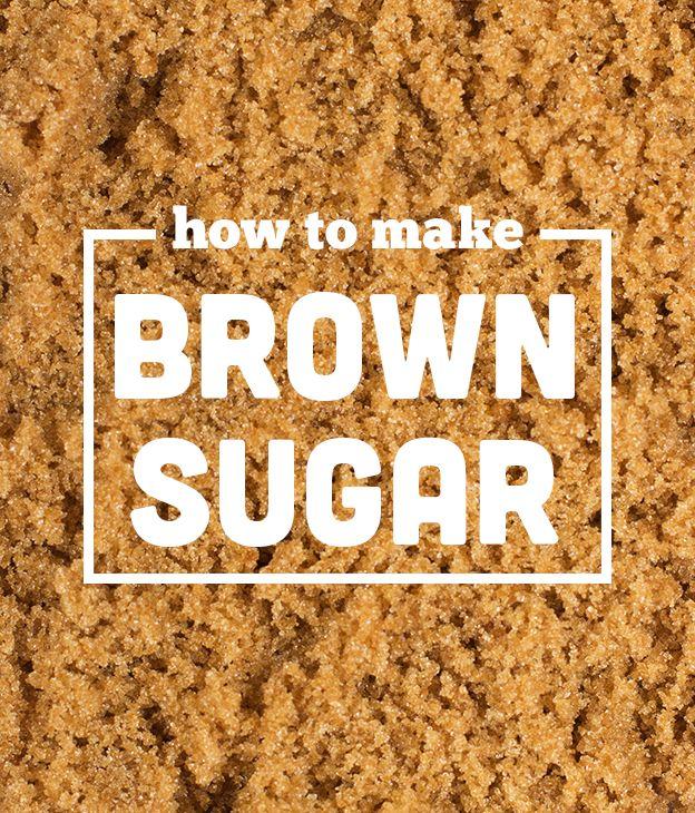 How to make brown sugar // Wit & Vinegar