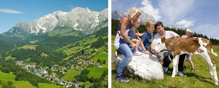 Bergdorf der Tiere in Mühlbach am Hochkönig, Region Hochkönig, Salzburger Land. : Hochkönig Region