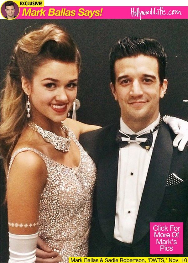 Their trio foxtrot was beautiful! I got chills! ~ Dancing With The Stars Mark Ballas Week 9
