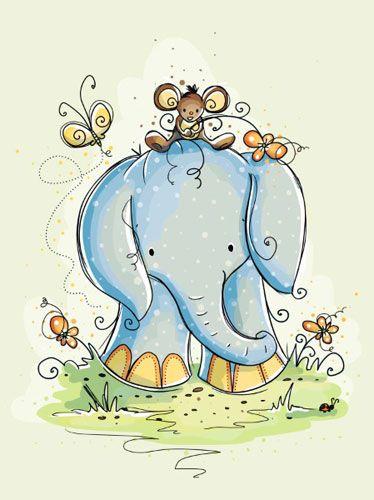 No importa el tamaño, pero si hablamos de él, el corazón de los elefantes no le cave en el pecho