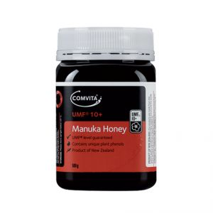 Miere de Manuka Comvita cu factor UMF 10 produsa in Noua Zeelanda.   Greenboutique.ro - Magazin online cu produse cosmetice bio Centifolia si miere Manuka.