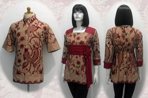 I Love Batik, this is Fashion tradisional From Indonesia