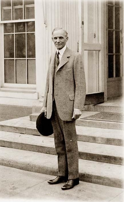 Henry Ford, an American hero and icon. He changed the lifestyle of the middle class and made owning an automobile possible for everyone. And let's not forget he was anti Semitic, and built war materials for the Nazis before the U.S. entered the WWII, his factory in Germany even using slave labor.