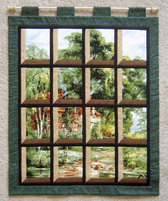 17 best images about attic windows on pinterest quilt for Window quilts