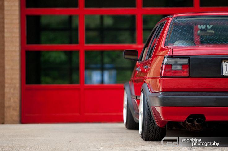 Russ' Mk2 VW Jetta VR6 on BBS RS's - 1573 | Russ' Mk2 Jetta … | Flickr