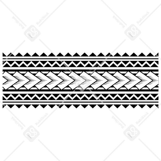 Polynesian Tattoo Band Polynesian Tattoo Border Design In 2020 Armband Tattoo Design Band Tattoo Designs Arm Band Tattoo