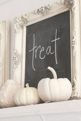FRENCH COUNTRY COTTAGE: WHITE PUMPKINS~ HAPPY HALLOWEEN!!