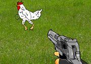 Tavuk Vurma oyununda sahip olduğunuz silahla tavuklara ateş edecek ve onları vurmaya çalışacaksınız. Elinizdeki silahın toplam yedi tane mermisi bulunmaktadır. Bu mermileri dikkatli bir şekilde kullanmalısınız. http://www.3doyuncu.com/tavuk-vurma/