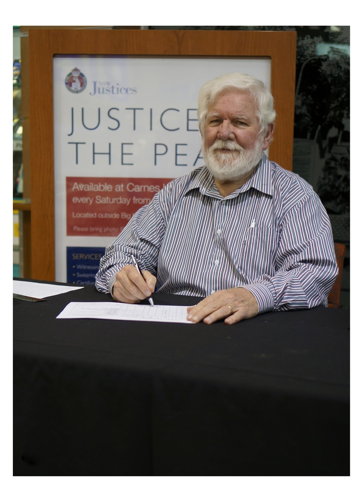 Eki Dugun: This photo was taken in Carnes Hill Marketplace on 11th of May 2013. This pictures shows one volunteering for the Justice of the Peace Community Service. One thing of importance to mention is that the Justice of the Peace is the oldest community service in Australia. #SocialAdvocacy