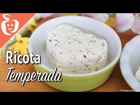 Como temperar o queijo ricota - YouTube