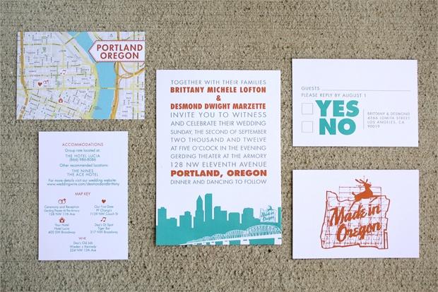 Wedding Invitations Portland Oregon