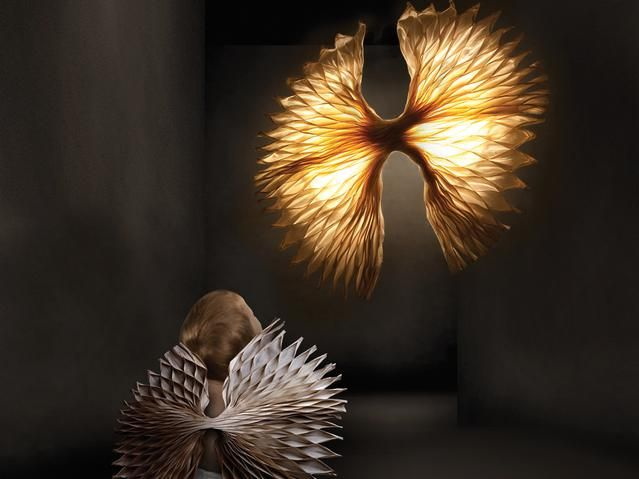 ANGEL by Francis Dravigny for Hive [design by hive] - available at KE-ZU.     #angel #hive #design #kennethcobonpue #dravigny #light #sconce #illuminate #lamp #interiordecoration #interiordesign