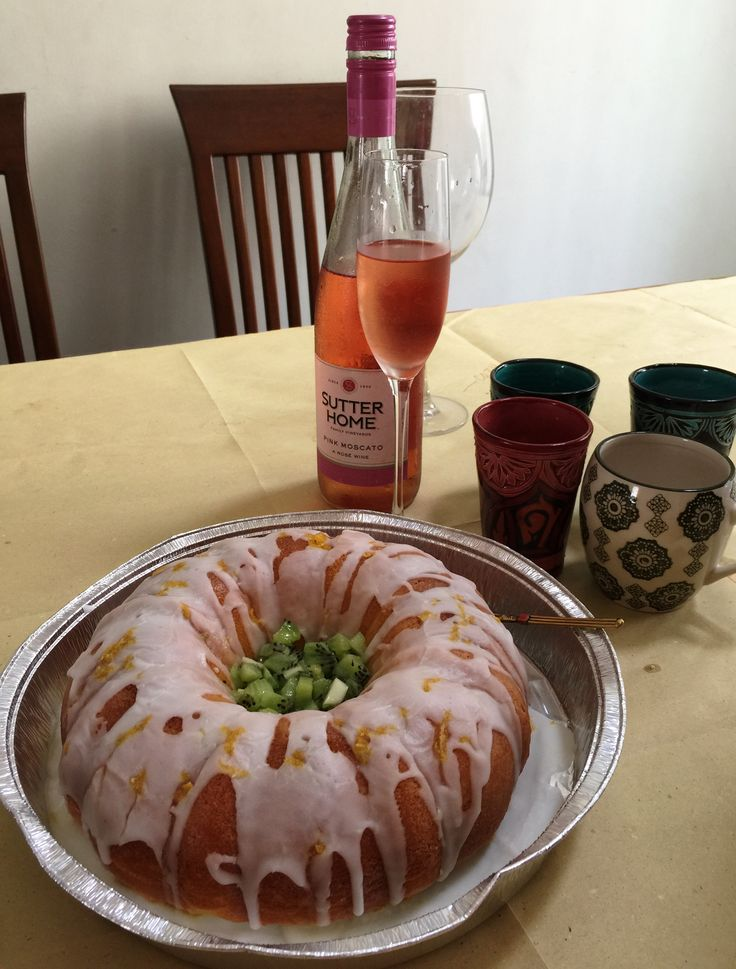 Yes, this is lemon cake again. In bundt. In a different time zone. Still a winner!