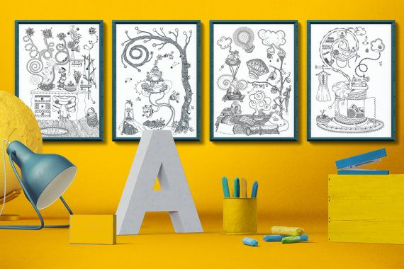 Magical home collection - 4 posters