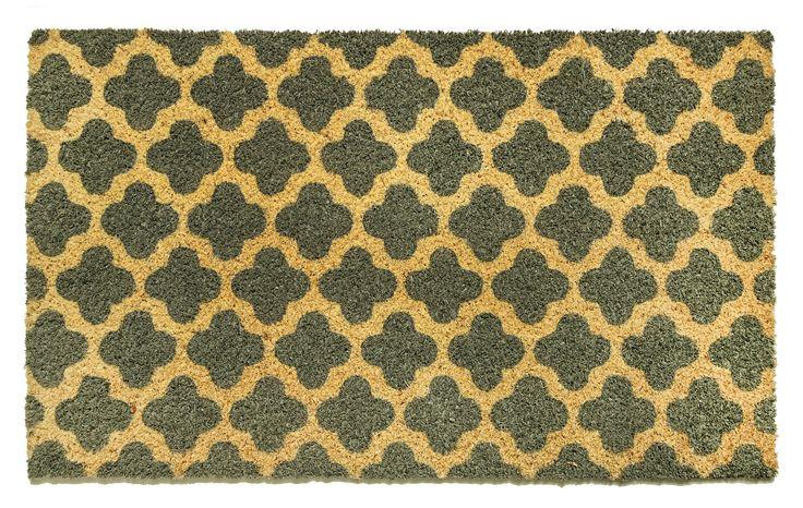 Dynamic Rugs Cascade Ivory/Grey Door Mat