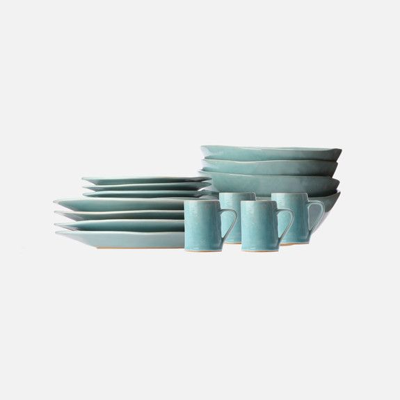 Mervyn Gers Ceramics - 16 Piece Dinnerware Set