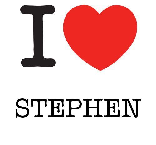 I Heart Stephen #love #heart