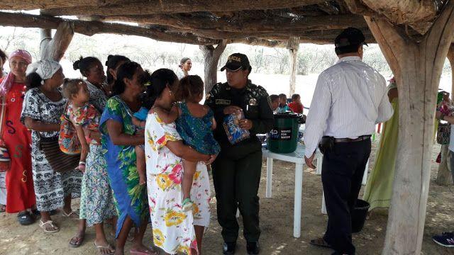 Hoy es Noticia : Mercados y filtros de agua donaron a los Wayuú