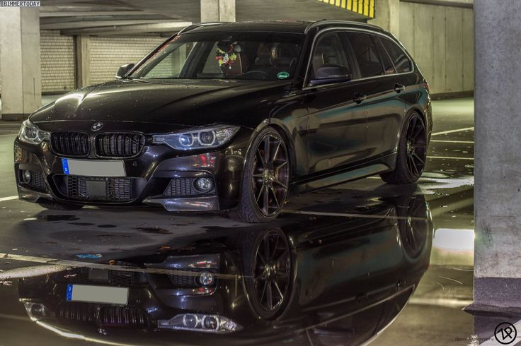 BMW 3 Series Touring in Citrine Black - http://www.bmwblog.com/2015/02/06/bmw-3-series-touring-citrine-black/