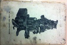 Heel Lasting Machine Manual (still referred to)