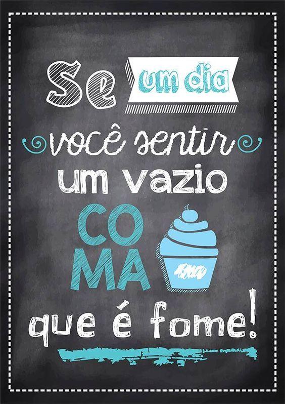 Poster Tipo Lousa p/ Cozinha