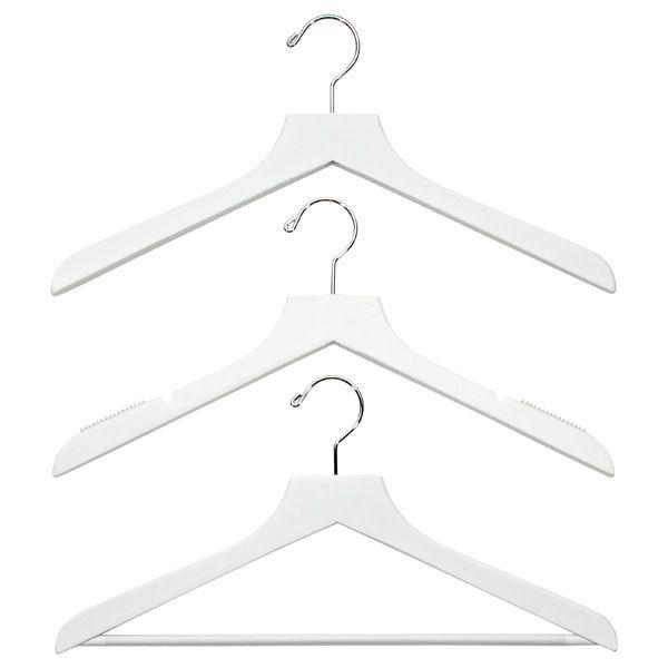 Basic White Wood Hangers