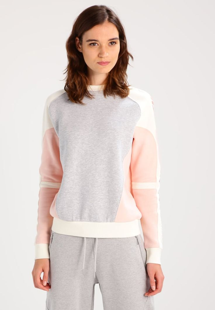 Calvin Klein Jeans HANI - Sweatshirt - light grey  for £109.99 (02/08/17) with free delivery at Zalando